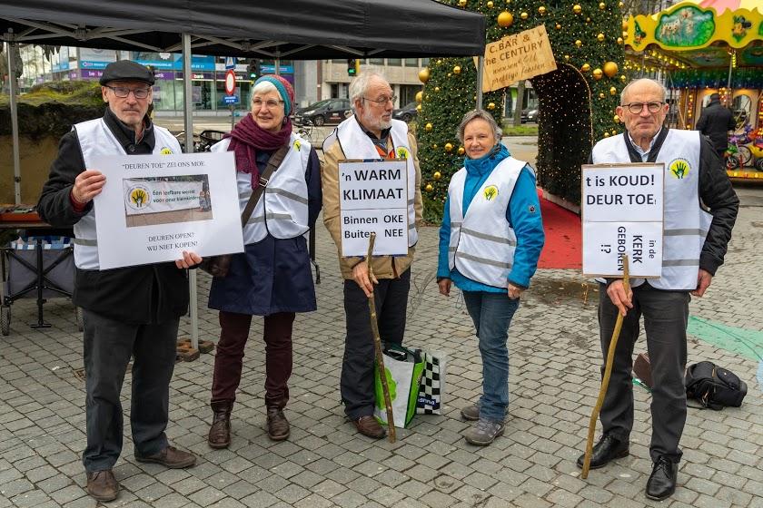 Actie 'Openstaande winkeldeuren' in Hasselt
