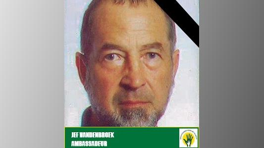 In memoriam Jef Van den Broeck