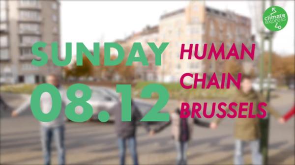 Mensenketting voor het Klimaat – nu zondag!