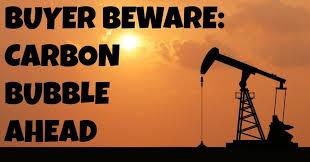 Barst straks de 'Carbon Bubble'?