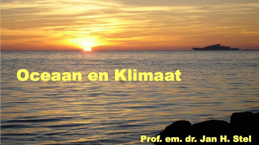 Oceaan en Klimaat (webinar met Jan Stel)