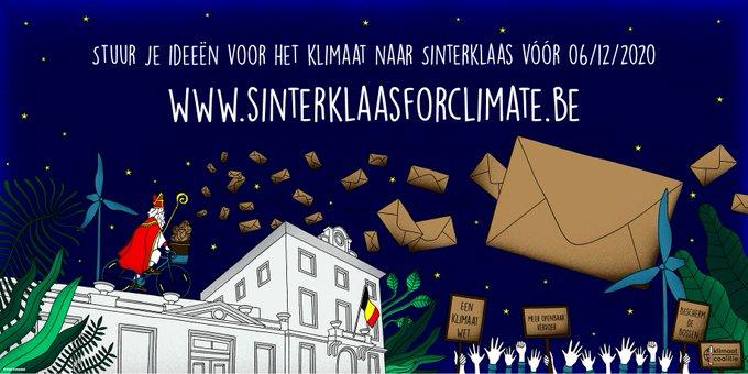 Schrijf een brief naar Sinterklaasforclimate