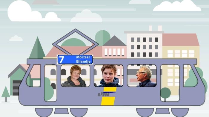 tram 7 in Antwerpen
