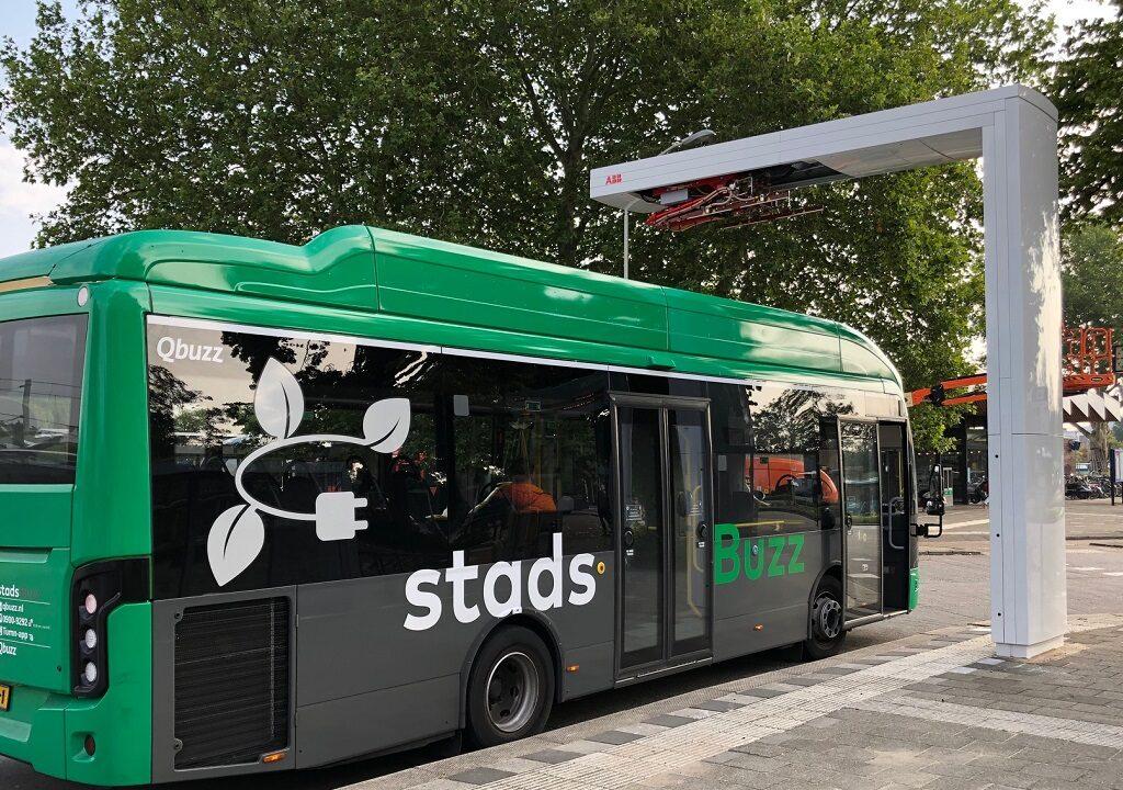 Groene stadsbussen rukken op