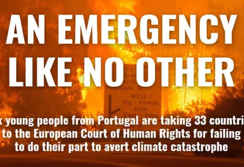 Hoe reageert België in klimaatzaak Portugese jongeren?