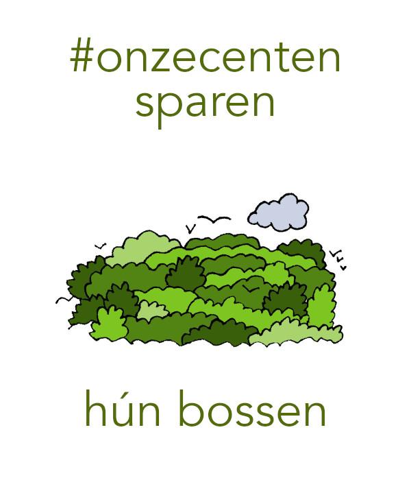 #onzecenten hun toekomst (bossen)