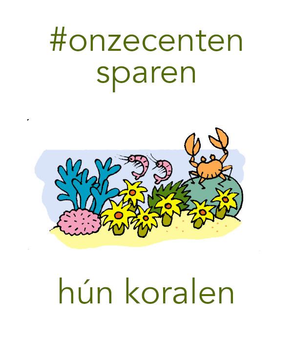 #onzecenten hun toekomst (koralen)