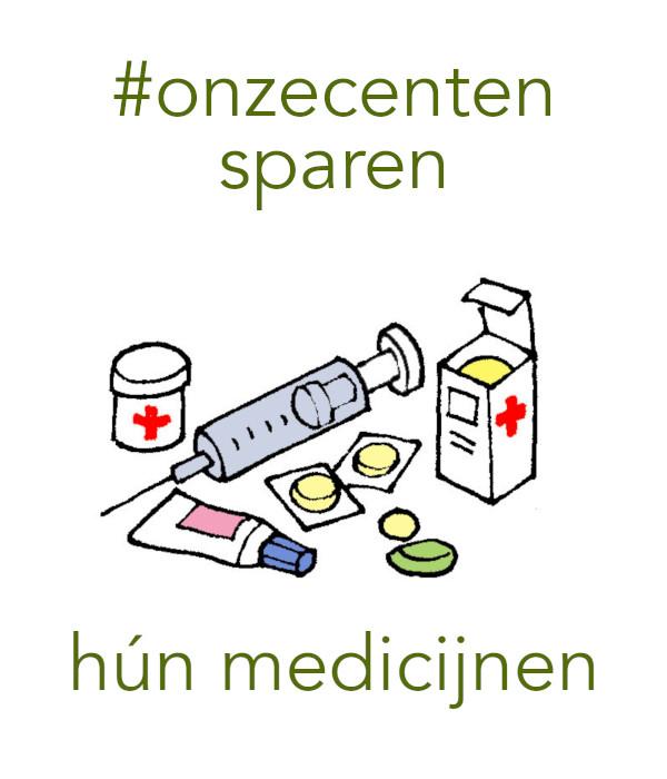 #onzecenten hun toekomst (medicijn)
