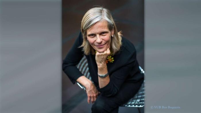 Caroline Pauwels (foto © VUB Bas Bogaerts)