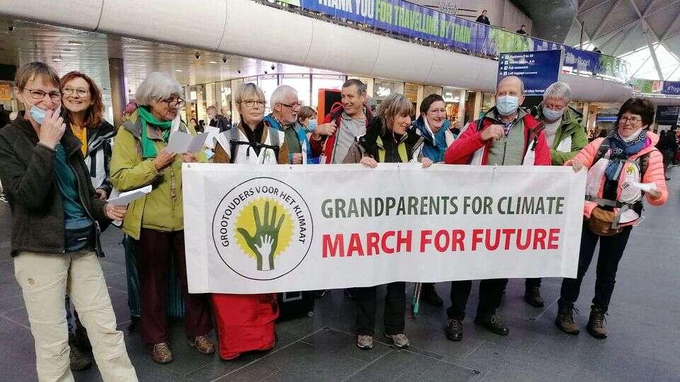 March for Future: onze 20 klimaatstappers zijn onderweg