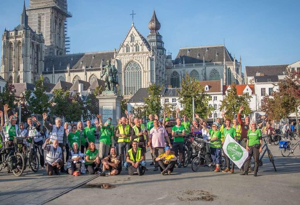 Ride the Tide  fietste langs de Vlaamse overstromingslijn (van 2100)